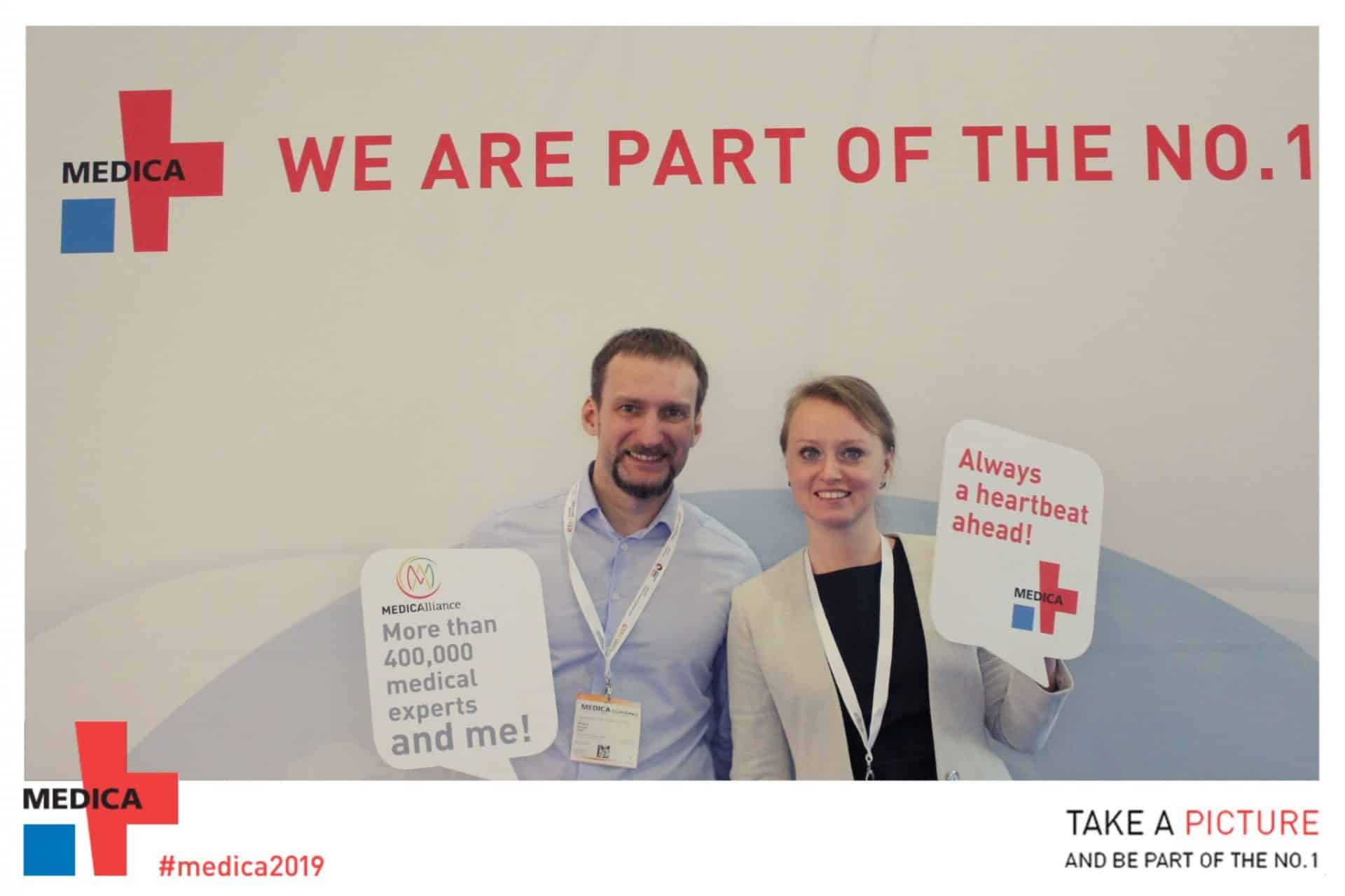 MEDICA 2019: Wearables, Digital Twins, and AI in Healthcare
