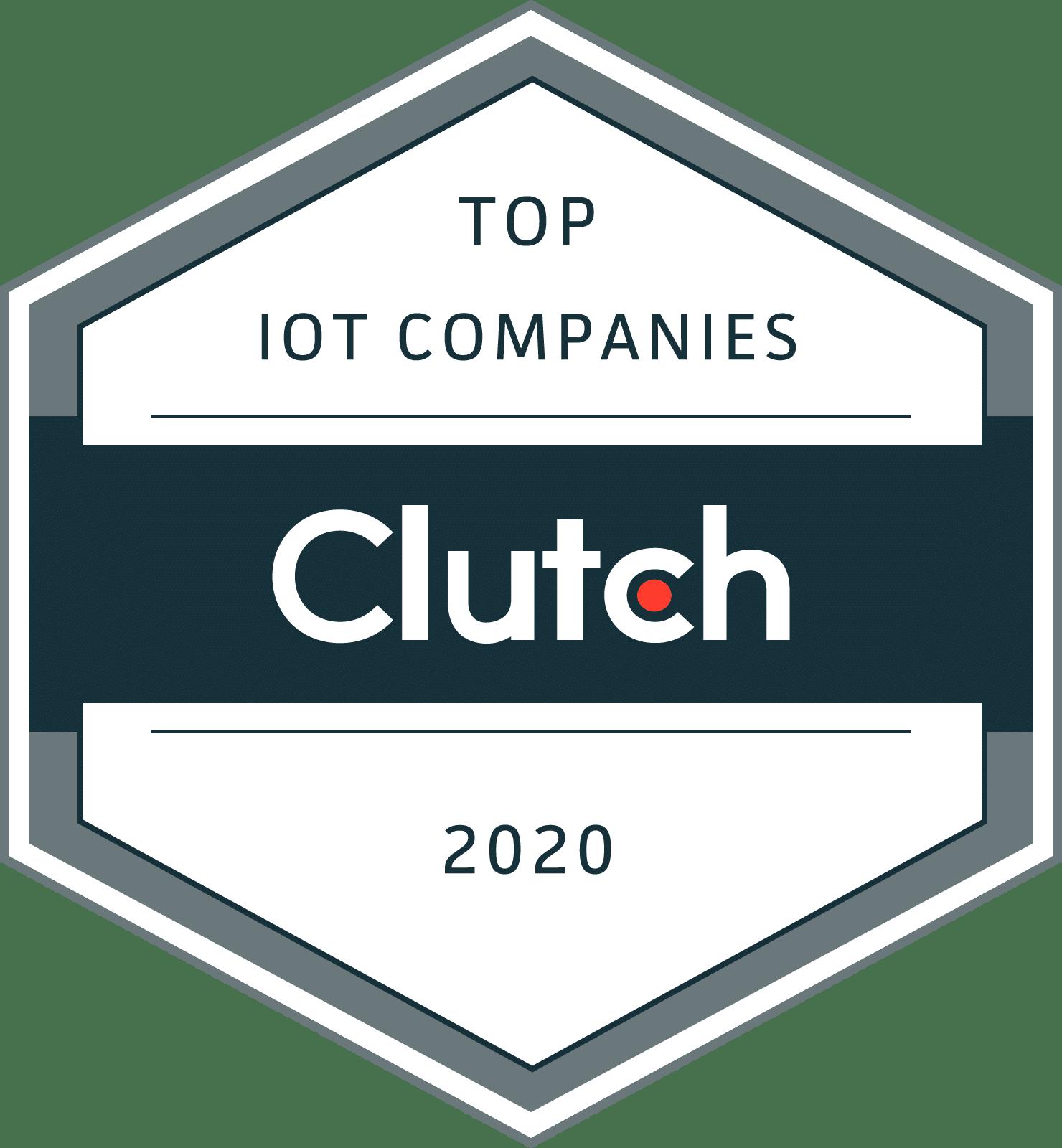 Clutch Top IoT companies 2020