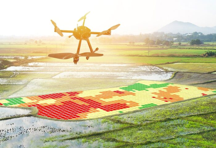 Smart agriculture drone software